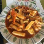 Spicy Stir Fried Rice Cake